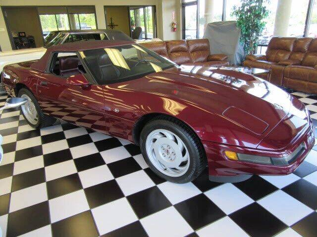1993 Chevrolet Corvette for sale at TAPP MOTORS INC in Owensboro KY
