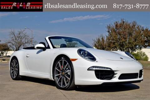 2013 Porsche 911 for sale at RLB Sales and Leasing in Fort Worth TX