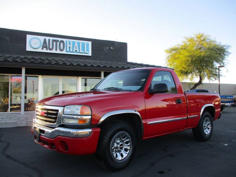 2006 GMC Sierra 1500 for sale at Auto Hall in Chandler AZ