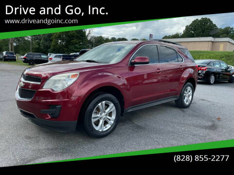 2010 Chevrolet Equinox for sale at Drive and Go, Inc. in Hickory NC