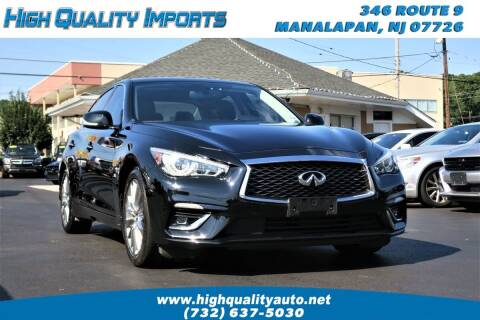 2019 Infiniti Q50 for sale at High Quality Imports in Manalapan NJ