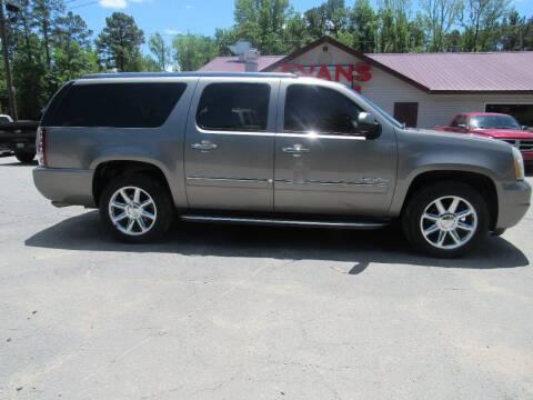 2012 GMC Yukon XL for sale at Evans Motors Inc in Little Rock AR