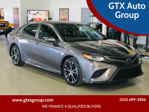 2020 Toyota Camry for sale at GTX Auto Group in West Chester OH