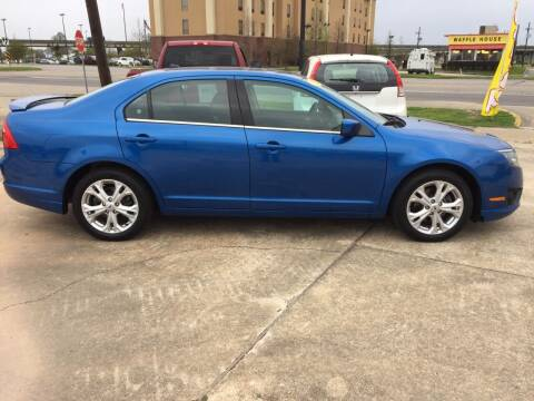 2012 Ford Fusion for sale at Uncle Ronnie's Auto LLC in Houma LA