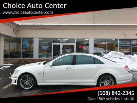 2009 Mercedes-Benz S-Class for sale at Choice Auto Center in Shrewsbury MA