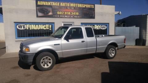 2006 Ford Ranger for sale at Advantage Motorsports Plus in Phoenix AZ