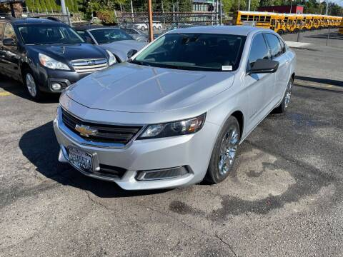 2016 Chevrolet Impala for sale at SNS AUTO SALES in Seattle WA