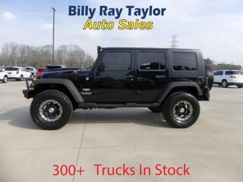 2010 Jeep Wrangler Unlimited for sale at Billy Ray Taylor Auto Sales in Cullman AL