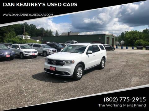 2014 Dodge Durango for sale at DAN KEARNEY'S USED CARS in Center Rutland VT