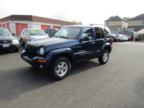 2002 Jeep Liberty for sale at ARISTA CAR COMPANY LLC in Portland OR
