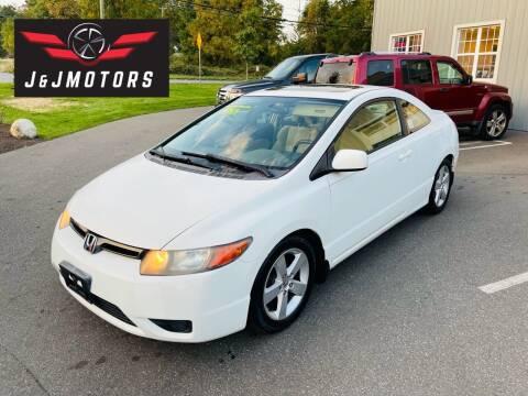 2006 Honda Civic for sale at J & J MOTORS in New Milford CT