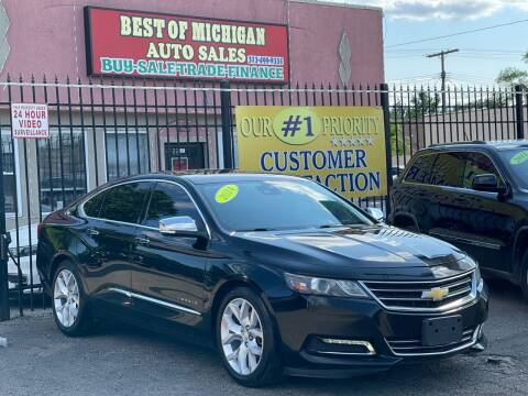 2014 Chevrolet Impala for sale at Best of Michigan Auto Sales in Detroit MI