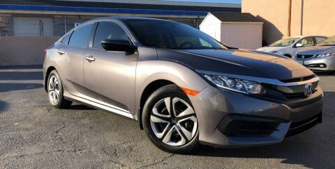 2017 Honda Civic for sale at Cars 2 Go in Clovis CA