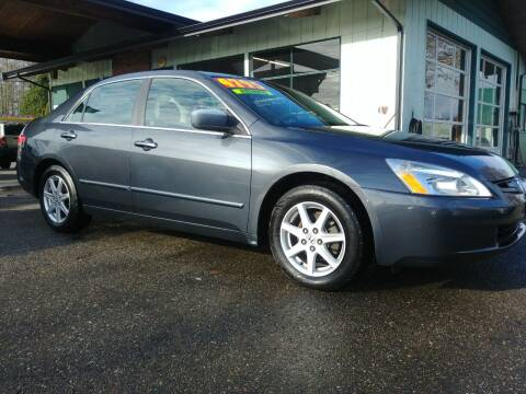 2004 Honda Accord for sale at Low Auto Sales in Sedro Woolley WA