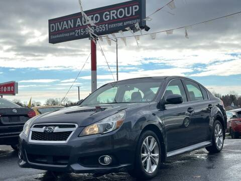 2013 Subaru Legacy for sale at Divan Auto Group in Feasterville Trevose PA