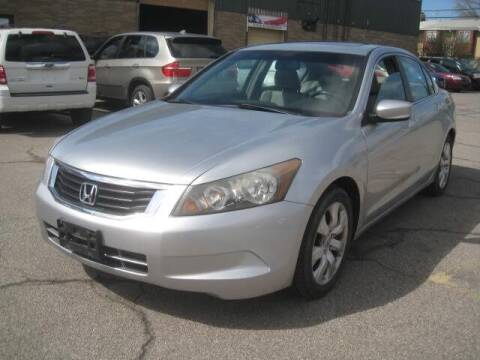2008 Honda Accord for sale at ELITE AUTOMOTIVE in Euclid OH