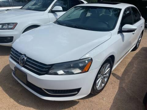 2012 Volkswagen Passat for sale at S & J Auto Group in San Antonio TX