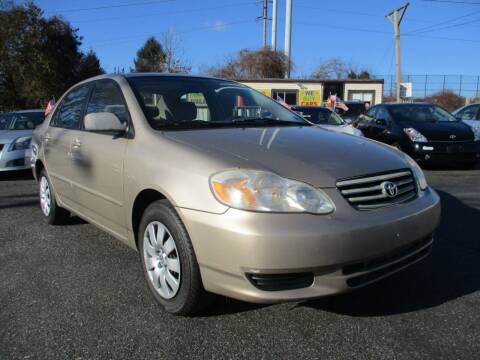 2004 Toyota Corolla for sale at Unlimited Auto Sales Inc. in Mount Sinai NY