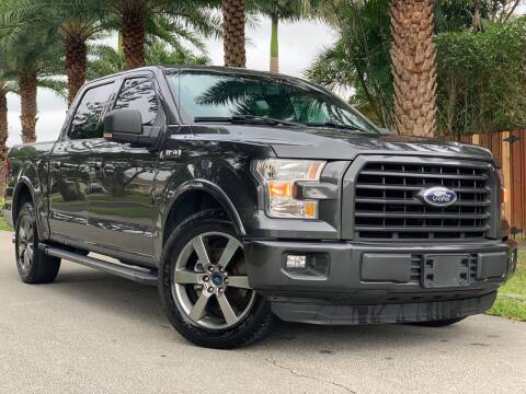 2015 Ford F-150 for sale at HIGH PERFORMANCE MOTORS in Hollywood FL