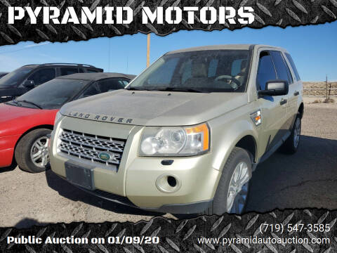 2008 Land Rover LR2 for sale at PYRAMID MOTORS - Pueblo Lot in Pueblo CO