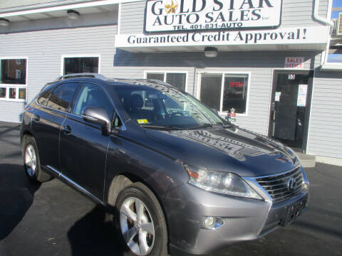 2013 Lexus RX 350 for sale at Gold Star Auto Sales in Johnston RI