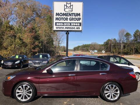 2015 Honda Accord for sale at Momentum Motor Group in Lancaster SC
