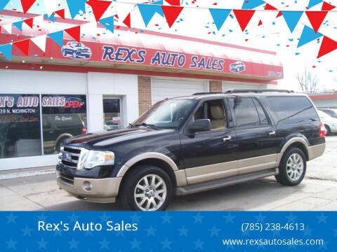 2011 Ford Expedition EL for sale at Rex's Auto Sales in Junction City KS