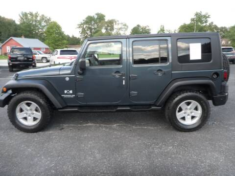 2008 Jeep Wrangler Unlimited for sale at CARSON MOTORS in Cloverdale IN