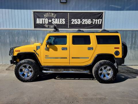 2004 HUMMER H2 for sale at Austin's Auto Sales in Edgewood WA