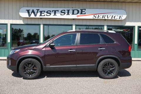 2014 Kia Sorento for sale at West Side Service in Auburndale WI