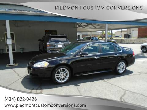 2014 Chevrolet Impala Limited for sale at PIEDMONT CUSTOM CONVERSIONS USED CARS in Danville VA