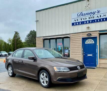 2012 Volkswagen Jetta for sale at Danny's Auto Deals in Grafton WI