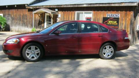 2006 Chevrolet Impala for sale at Spear Auto Sales in Wadena MN