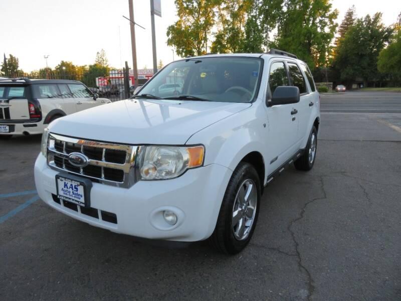 2008 Ford Escape for sale at KAS Auto Sales in Sacramento CA