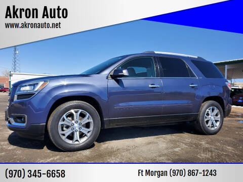 2013 GMC Acadia for sale at Akron Auto - Fort Morgan in Fort Morgan CO