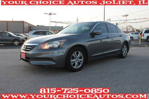2012 Honda Accord for sale at Your Choice Autos - Joliet in Joliet IL