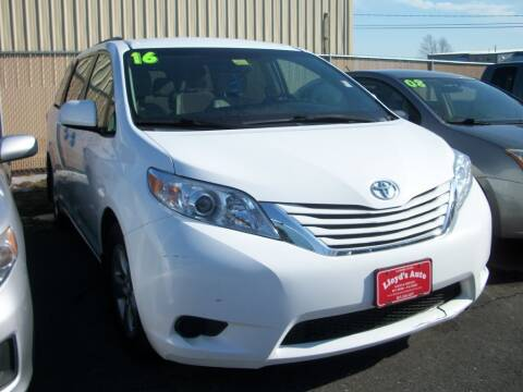 2016 Toyota Sienna for sale at Lloyds Auto Sales & SVC in Sanford ME