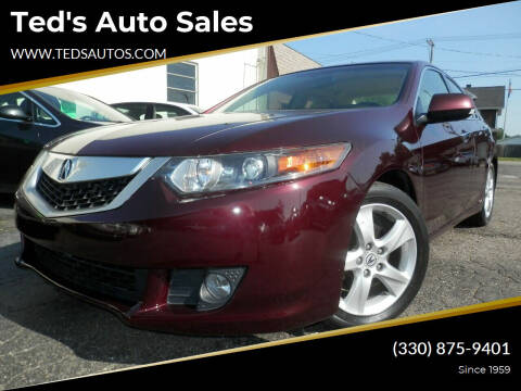 2010 Acura TSX for sale at Ted's Auto Sales in Louisville OH