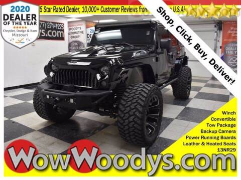 2013 Jeep Wrangler Unlimited for sale at WOODY'S AUTOMOTIVE GROUP in Chillicothe MO