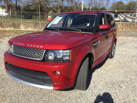 2013 Land Rover Range Rover Sport for sale at Beckham's Used Cars in Milledgeville GA