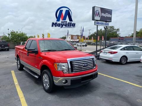 2012 Ford F-150 for sale at Auto Mayella in Miami FL