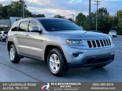 2015 Jeep Grand Cherokee for sale at Ole Ben Franklin Motors-Mitsubishi of Alcoa in Alcoa TN
