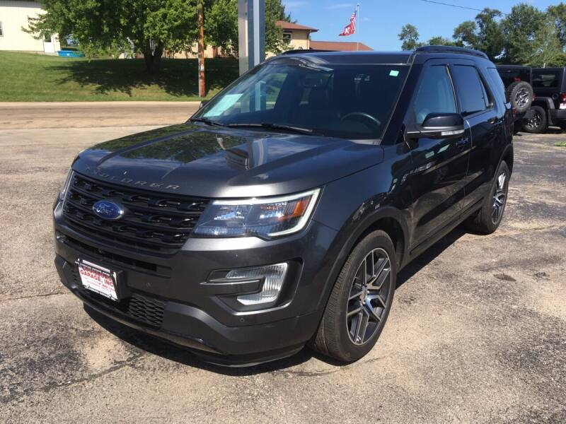 2017 Ford Explorer for sale at Louisburg Garage, Inc. in Cuba City WI