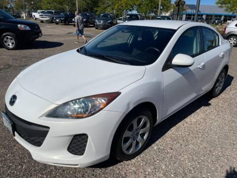 2013 Mazda MAZDA3 for sale at CHRISTIAN AUTO SALES in Anoka MN