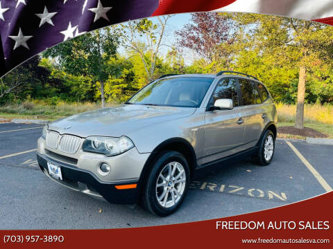 2007 BMW X3 for sale at Freedom Auto Sales in Chantilly VA