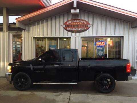 2013 Chevrolet Silverado 1500 for sale at Motorsports Unlimited in McAlester OK