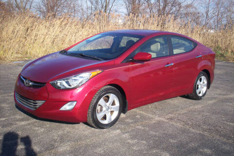2013 Hyundai Elantra for sale at Action Auto Wholesale - 30521 Euclid Ave. in Willowick OH