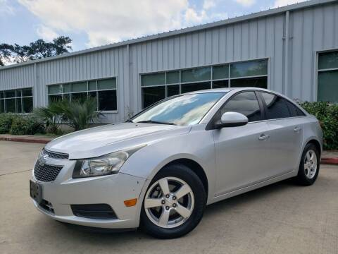 2013 Chevrolet Cruze for sale at Houston Auto Preowned in Houston TX