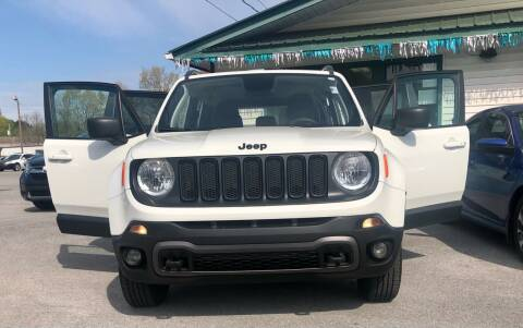 2018 Jeep Renegade for sale at Morristown Auto Sales in Morristown TN