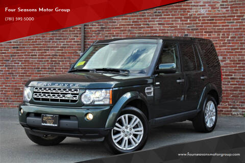 2011 Land Rover LR4 for sale at Four Seasons Motor Group in Swampscott MA